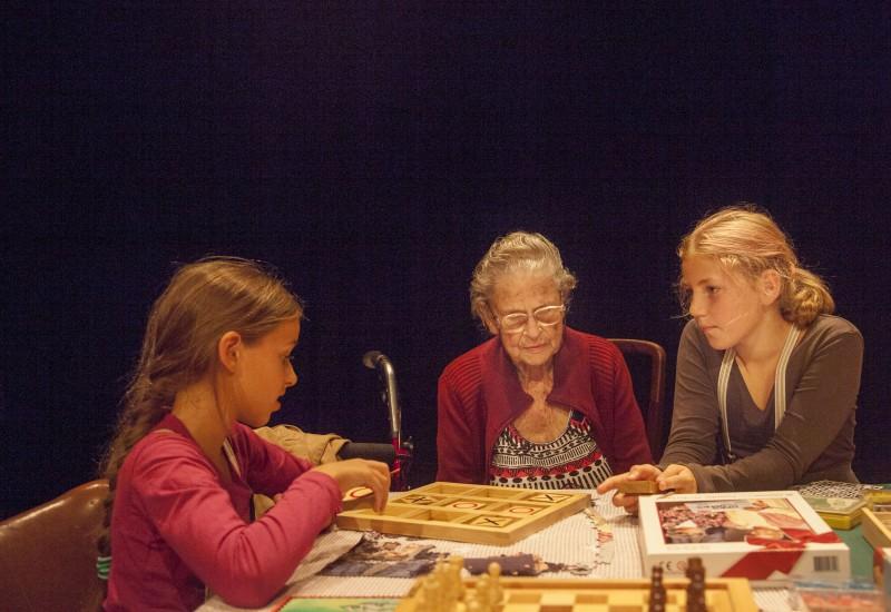 Opa's en Oma's - Theatergroep Slapelozen